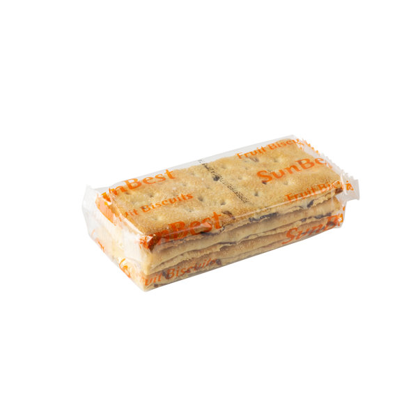 Hellema HELLEMA SunBest Fruit Biscuits ROZIJNEN & BOSVRUCHTEN - 218 gram pakje