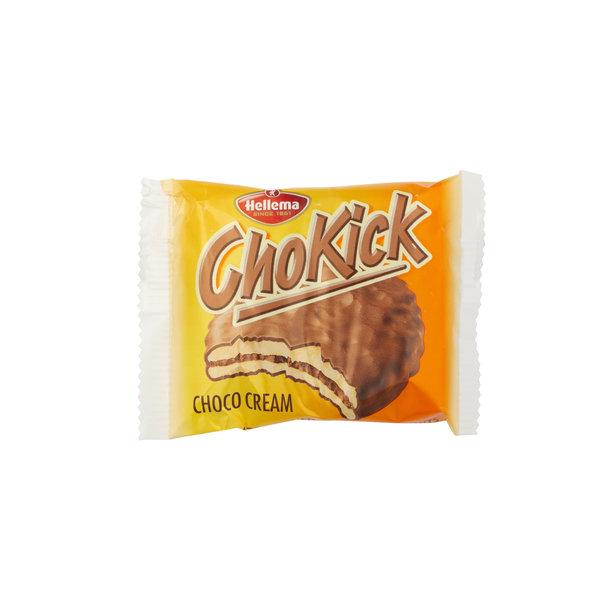 Hellema HELLEMA ChoKick Chocolate Cream Koekjes - 180 gram doos