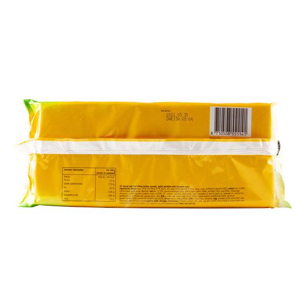 Hellema HELLEMA SunBest Fruit Biscuits ROZIJNEN & APPEL - 24x 218 gram - grootverpakking