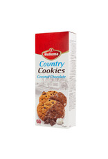 Hellema HELLEMA COUNTRY Cookies Chocolat à la noix de coco - 12x 175 grammes - carton principal