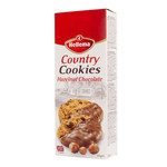 Hellema HELLEMA COUNTRY Cookies Hazelnoot chocolade - 12x 175 gram - grootverpakking
