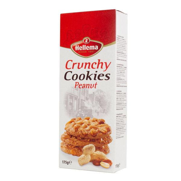 Hellema HELLEMA COUNTRY Cookies Peanut - 12x 175 grams - master carton