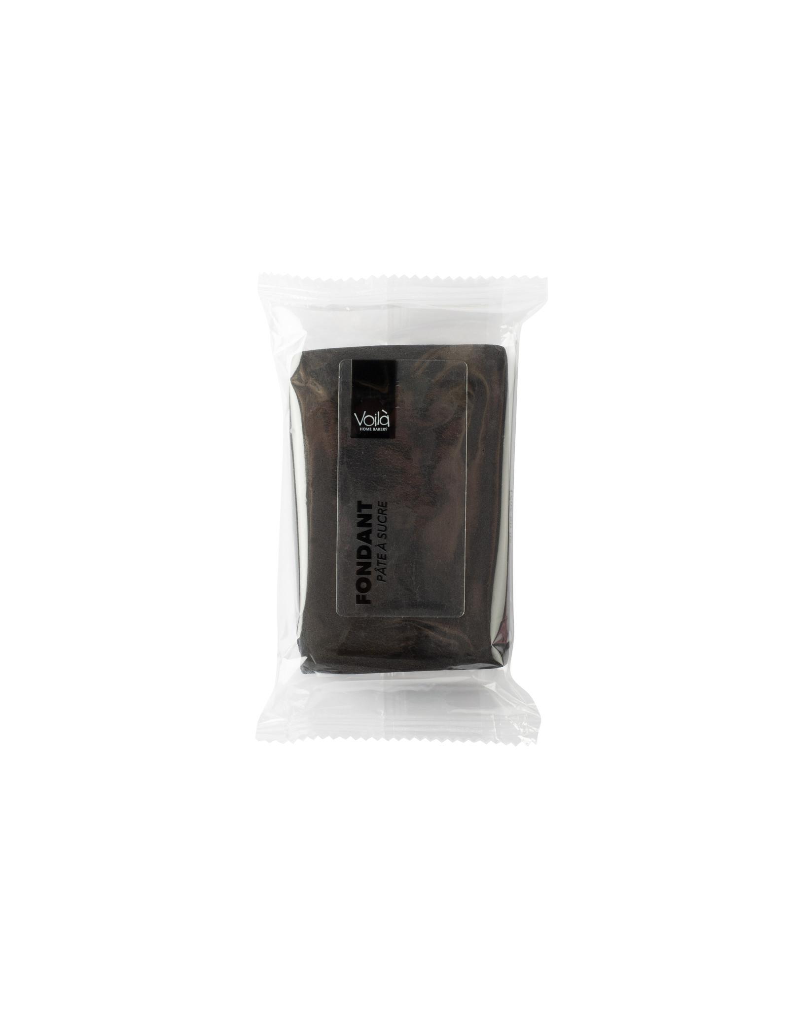 VOILA Home Bakery Voila Rolfondant zwart - 10x 150 gram - grootverpakking (1,5 kgs)