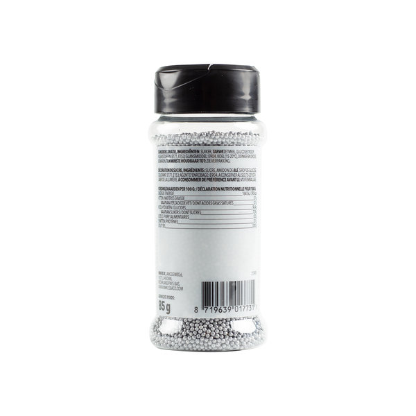 VOILA Home Bakery Voila Musketzaad zilver - 12x 85 gram single