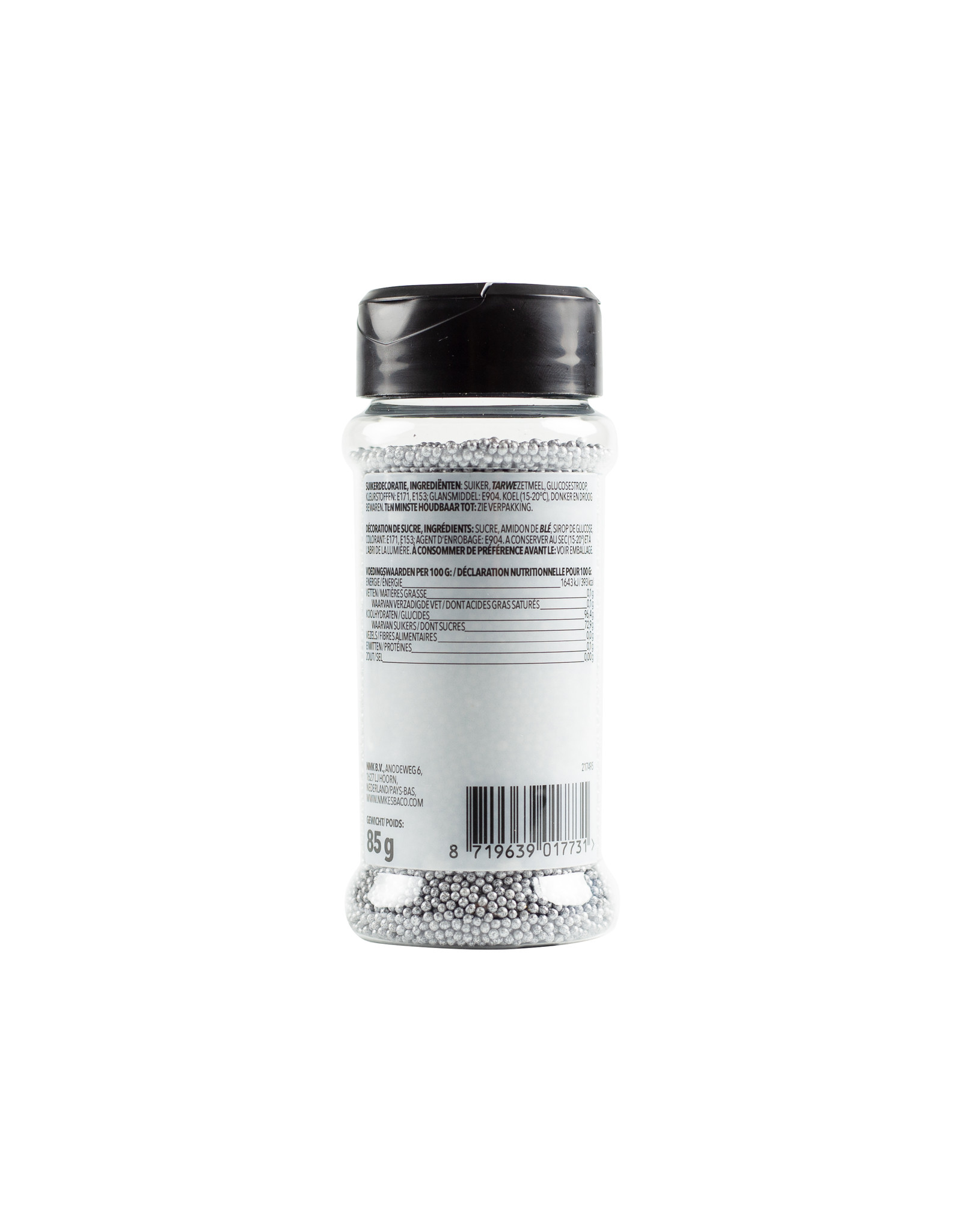 VOILA Home Bakery Voila Musketzaad zilver - 12x 85 gram