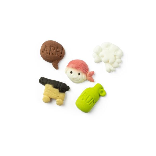 VOILA Home Bakery Voila Suikerdecoratie Piraten - 14 gram doosje