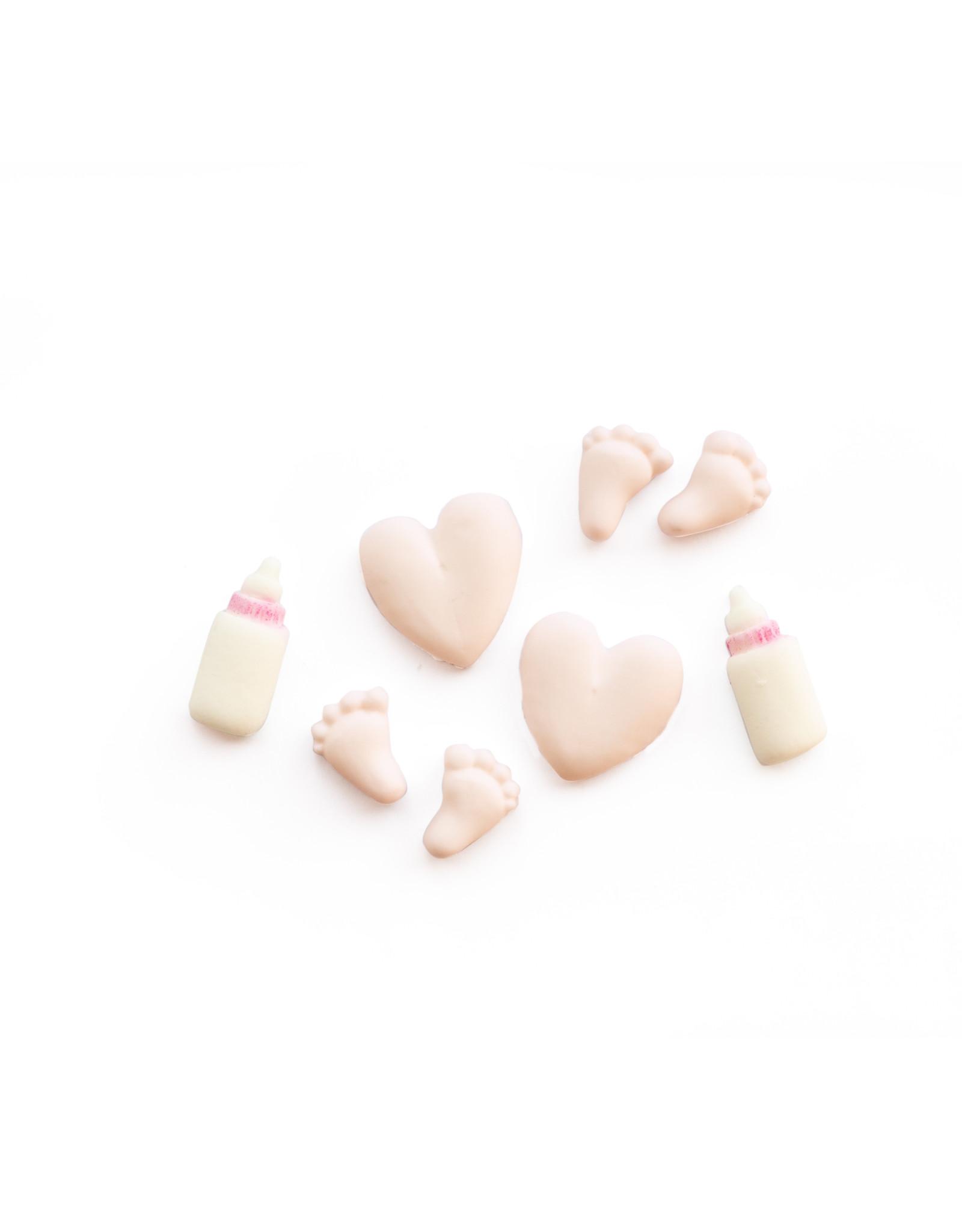 VOILA Home Bakery Voila Suikerdecoratie Baby Meisje - 22x 19 gram