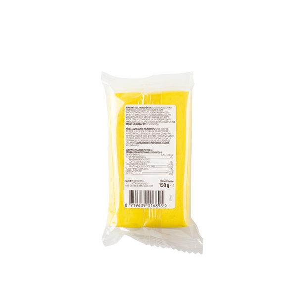 VOILA Home Bakery Voila Rolfondant - 150 gram enkel pakje Geel