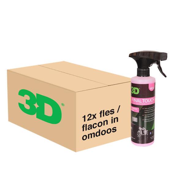 3D PRODUCTS 3D Final Touch - 16 oz / 473 ml - 12x Spray Fles - grootverpakking