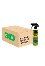 3D PRODUCTS 3D Express Wax - 16 oz / 473 ml - 12x Spray Fles - grootverpakking