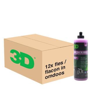 3D PRODUCTS 3D Wash N Wax - 16 oz / 473 ml - 12x Flacon - grootverpakking