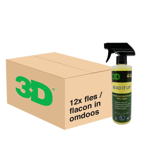 3D PRODUCTS 3D Bead it Up - 16 oz / 473 ml - 12x Spray Fles - grootverpakking