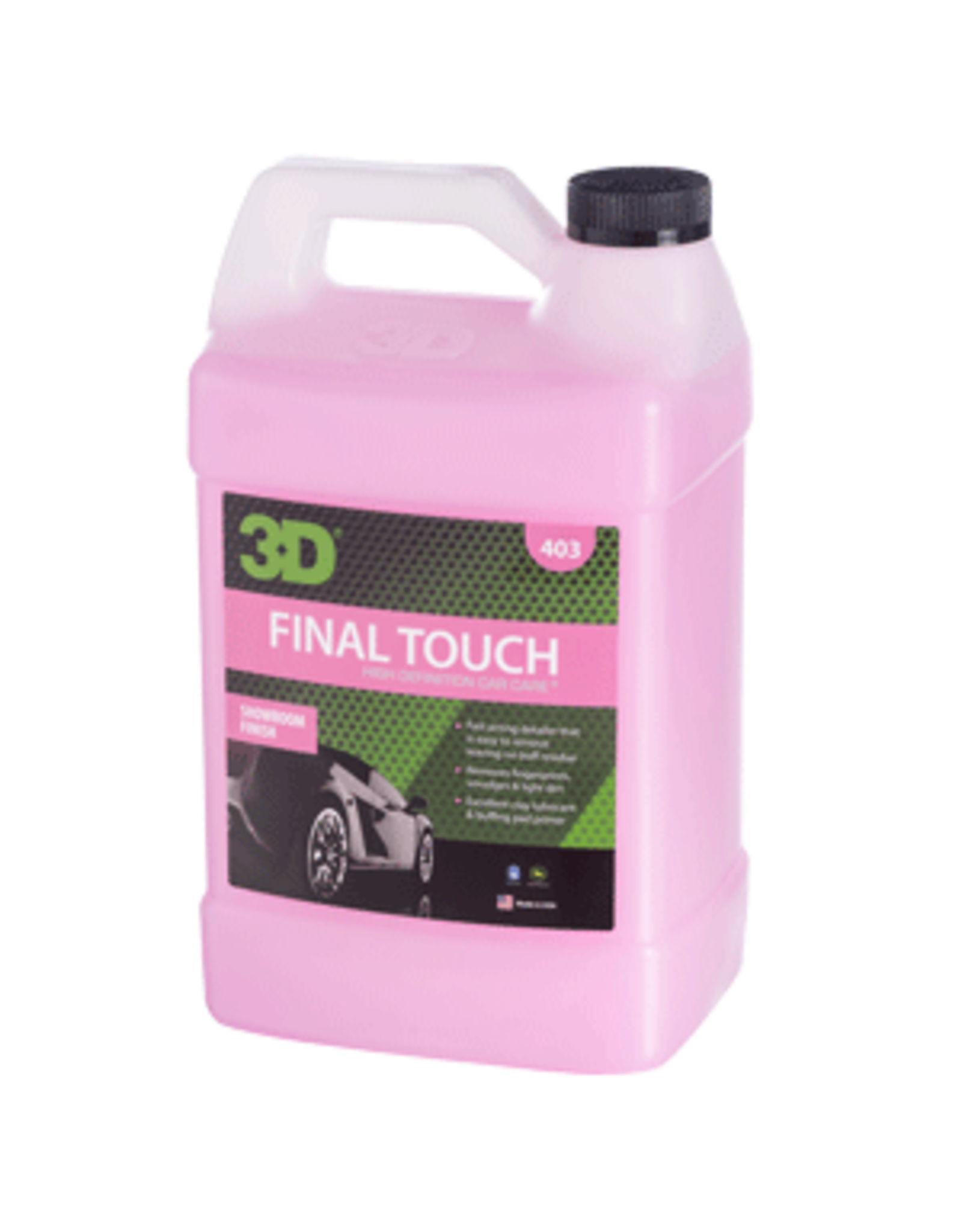 3D PRODUCTS 3D Final Touch - 1 Gallon / 3.78 Lt Can