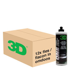 3D PRODUCTS 3D One Hybrid Compound & Polish - 32 oz / 0.95 Lt  - 12x Flacon - Grootverpakking