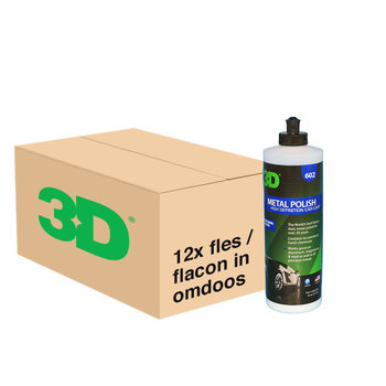 3D PRODUCTS 3D Metal Polish - 16 oz / 473 ml - 12x Flacon -  grootverpakking