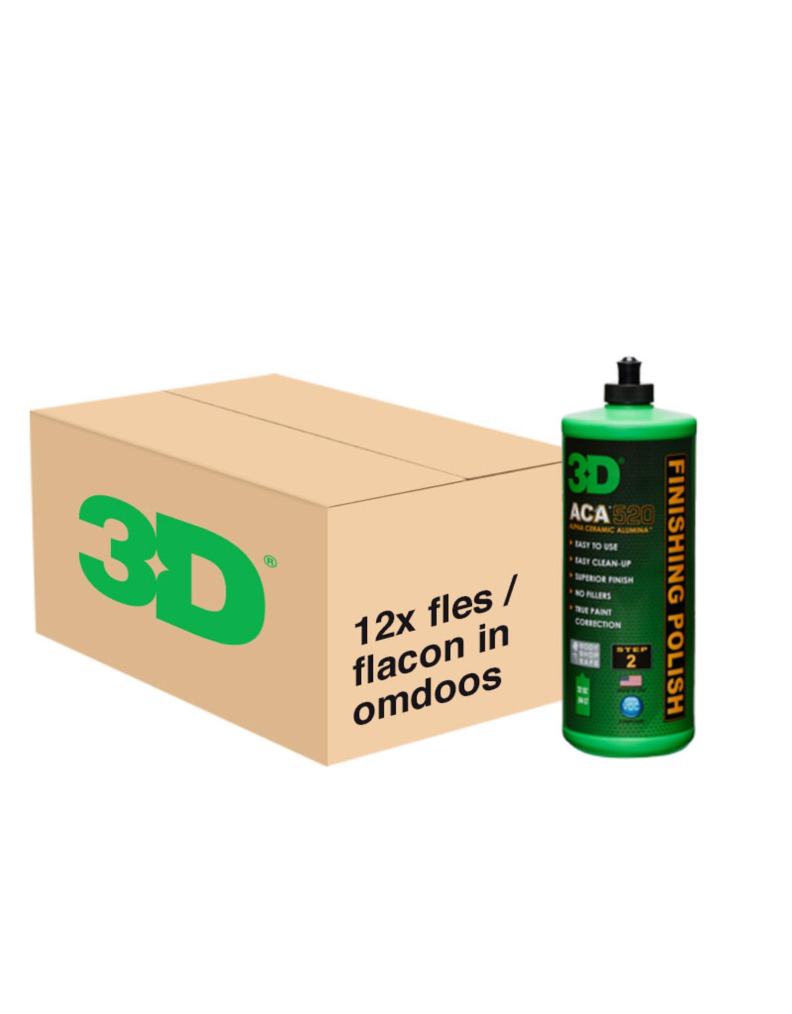 3D PRODUCTS 3D ACA Finishing Polish 520 - 12x 32 oz / 946 ml - grootverpakking