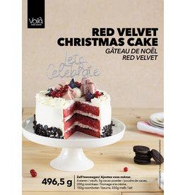VOILA Home Bakery Voila Home Bakery Christmas Velvet Cake Taartset