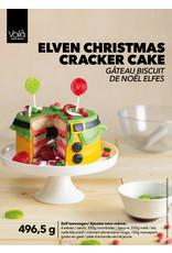 VOILA Home Bakery Voila Home Bakery Elf Christmas Cracker Cake Taartset