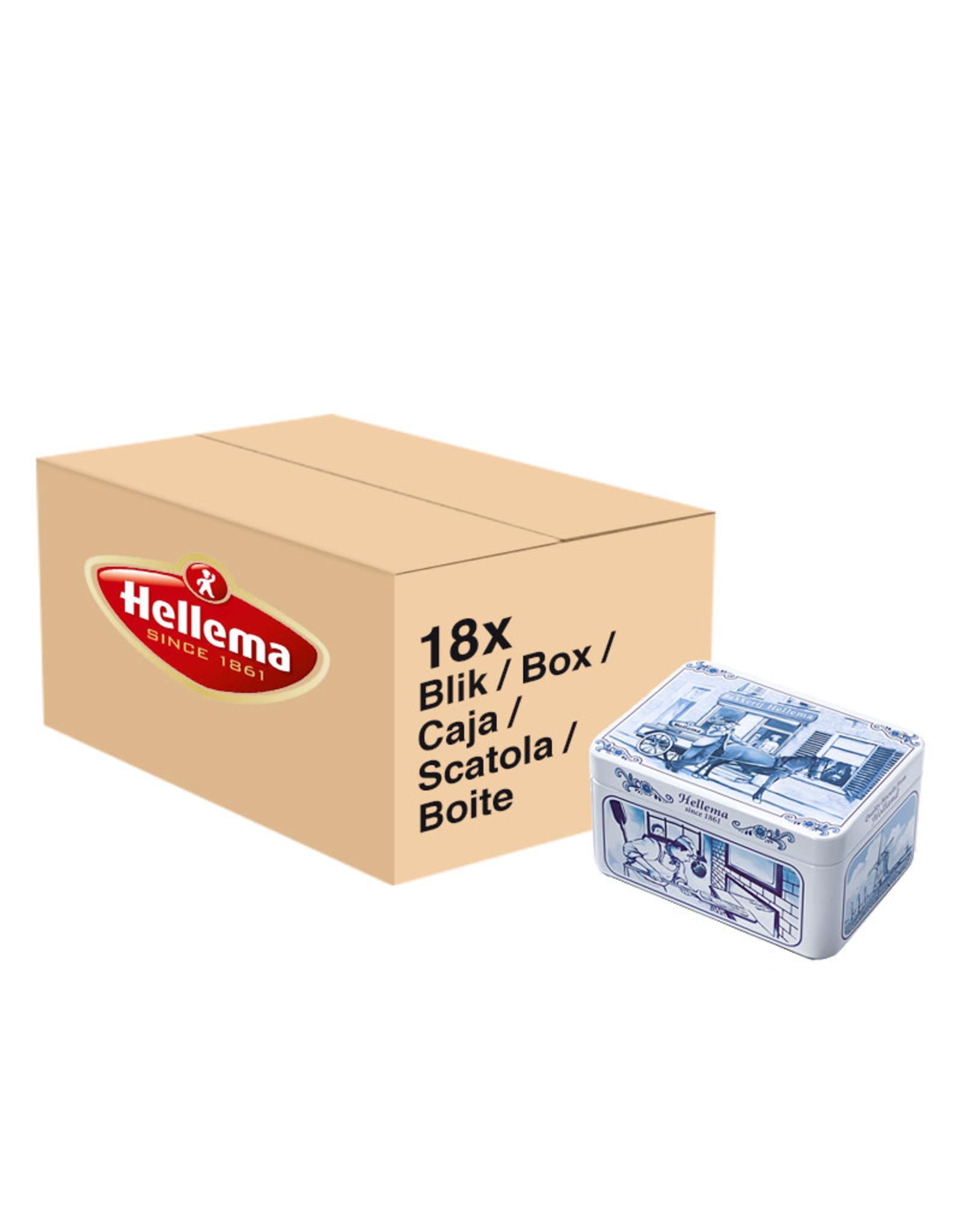 Hellema Hellema Blikspeculaas Klein - 18x 135 gram blik omdoos