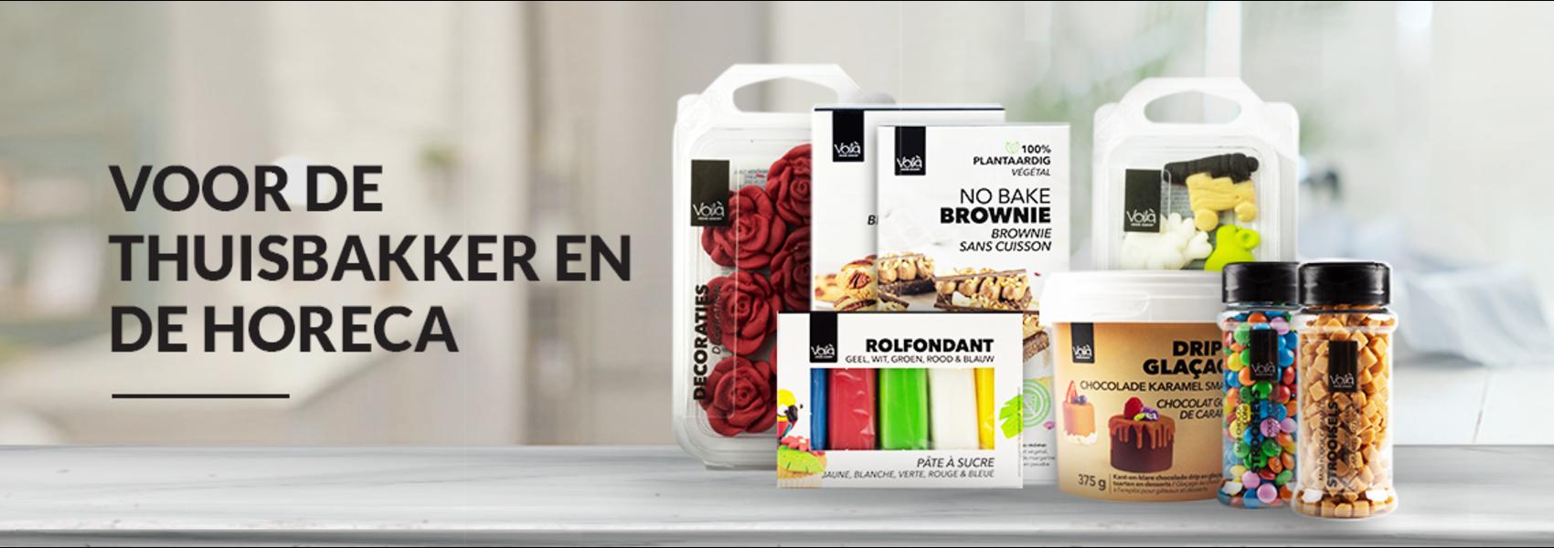 Voila Home Bakery  range - NL