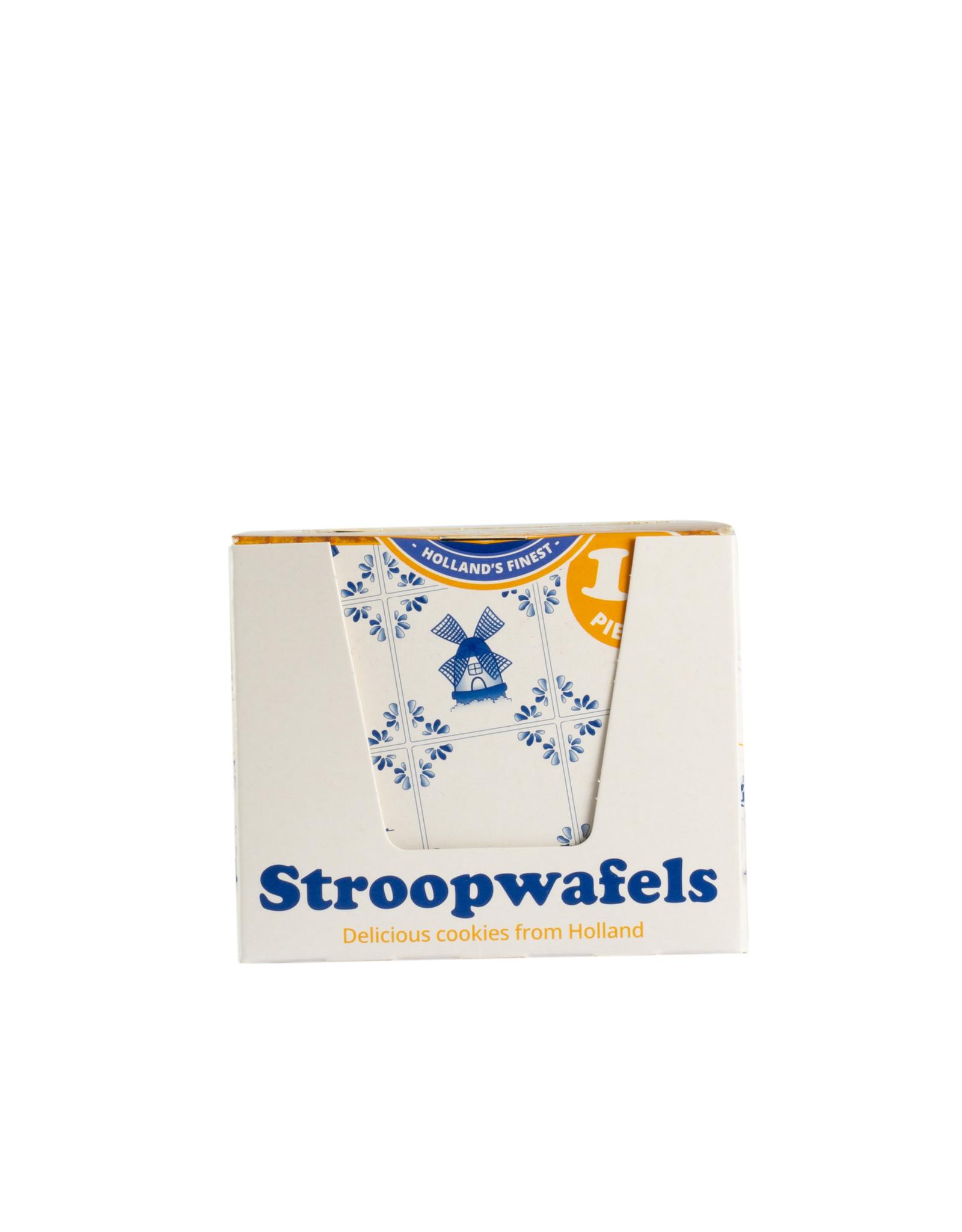 Max & Alex Max & Alex Single Packed Stroopwafel SRP display (10x 31,5 gram) 6x - omdoos single