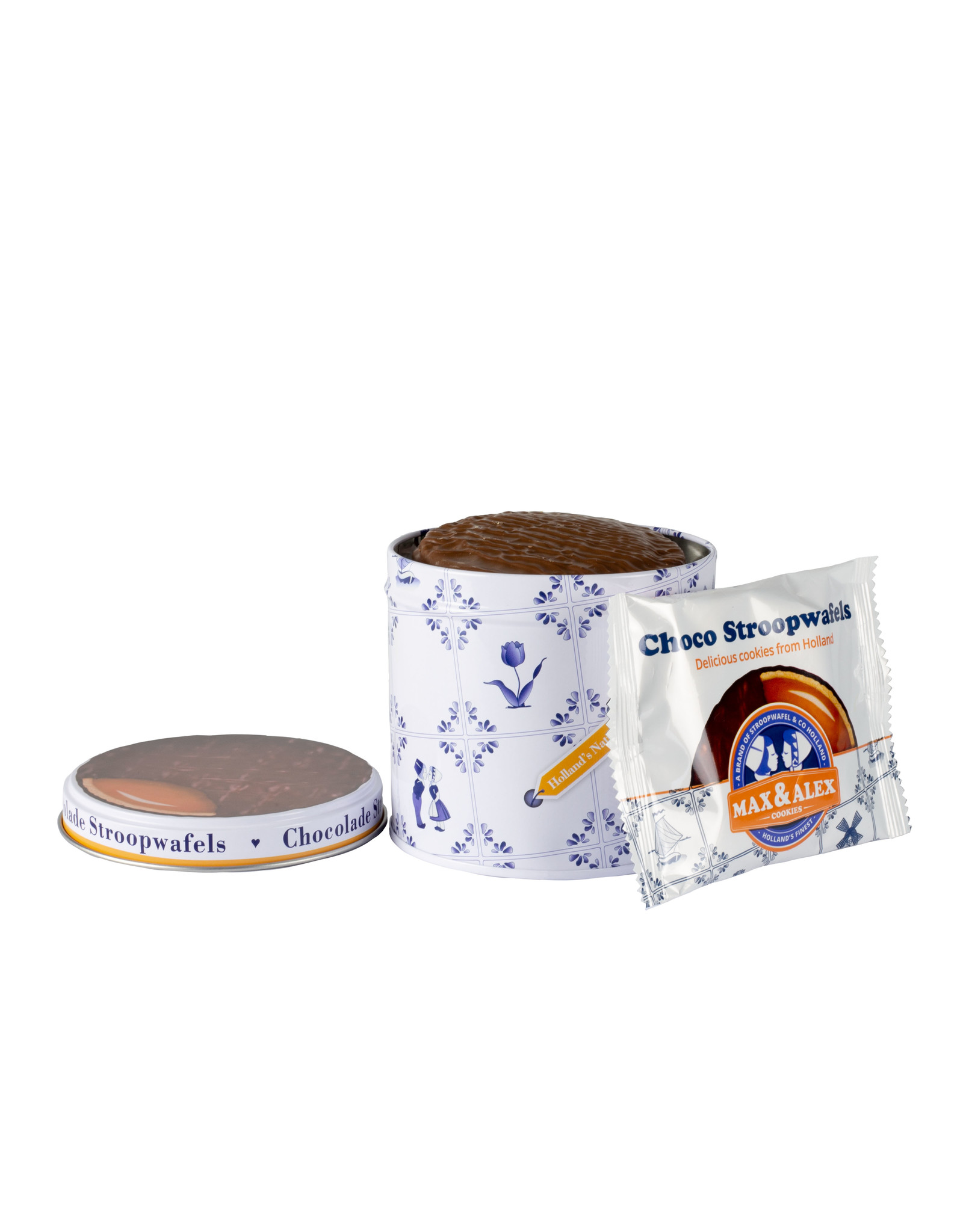 Max & Alex Max & Alex Chocolate Syrup Waffles in Tin Can (270 gram)