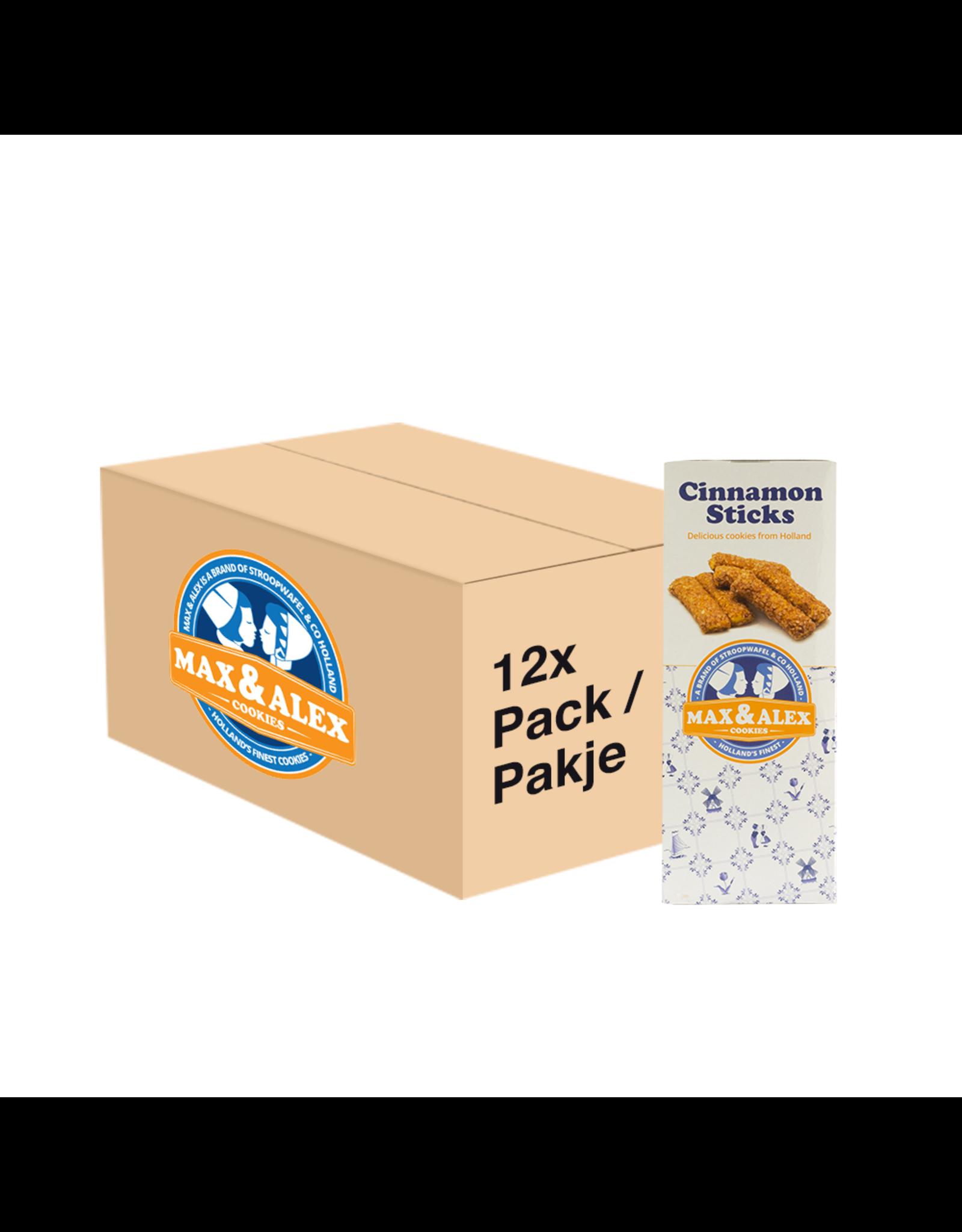 Max & Alex Max & Alex Batonnets de cannelle (200 gram) 12x - carton principal