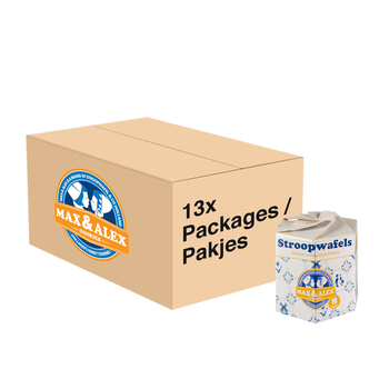 Max & Alex Max & Alex Sirop Gaufres 13x 250 gramme Hexa emballage - carton principal