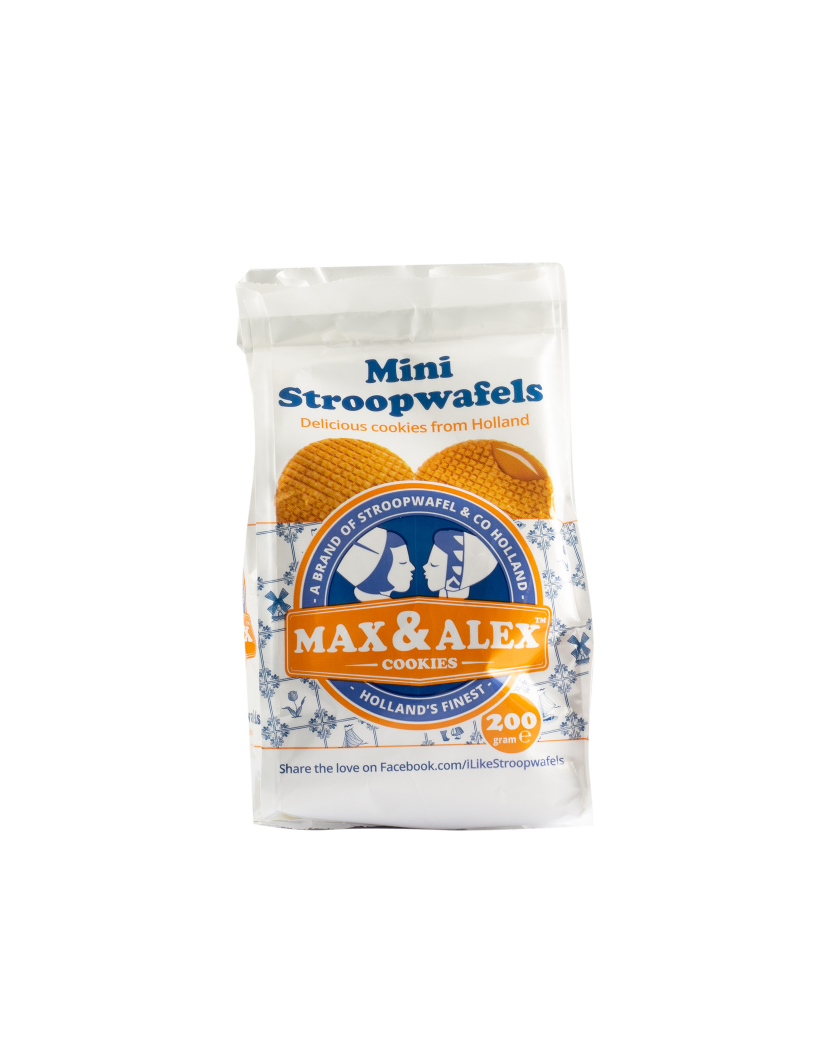 Max & Alex Max & Alex Mini Sirup Waffles 200 gram 12x - master carton