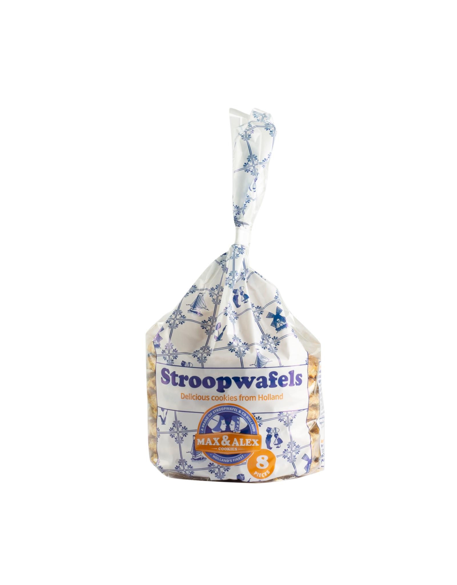 Max & Alex Max & Alex Stroopwafels in Delftsblauw Blik (250 gram)