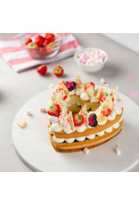 VOILA Home Bakery Voila Home Bakery Fetes de Meres Gateau en Forme de Coeur ensemble