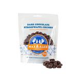 Max & Alex Max & Alex - Stroopwafelstukjes Pure Chocolade - 200 gram zakje