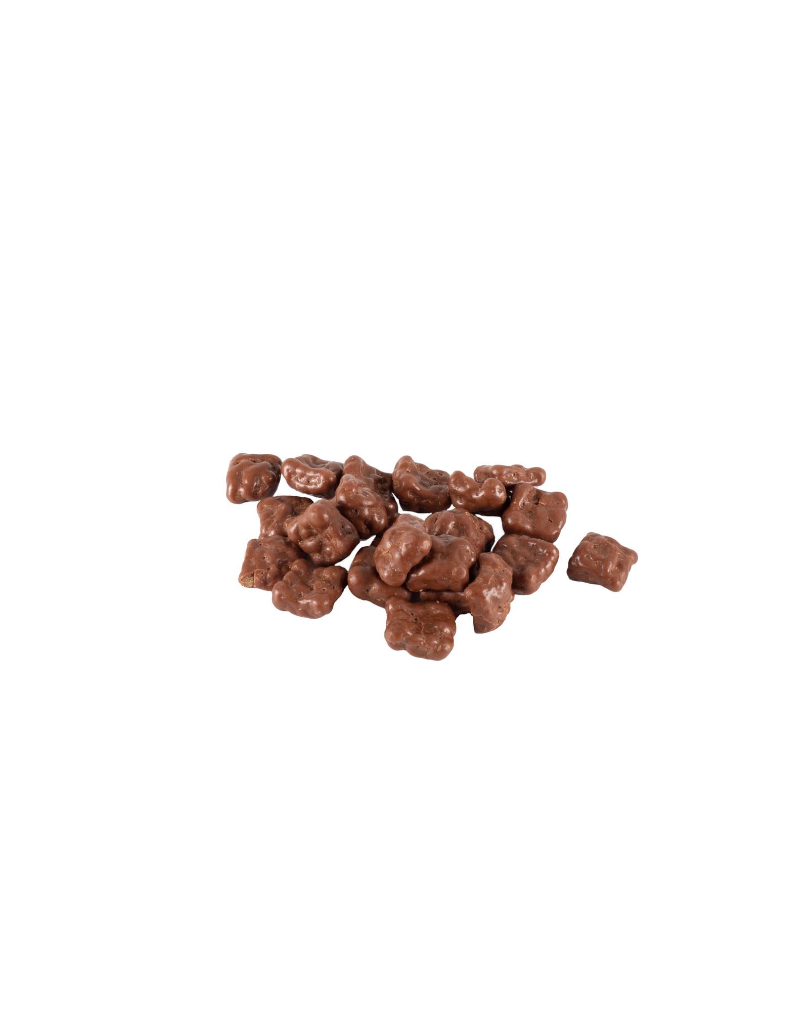Max & Alex Max & Alex - Stroopwafelstukjes Melk Chocolade - 32x 300 gram zakje (omdoos)