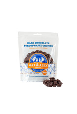 Max & Alex Max & Alex - Sirop Marceaux de Gaufrette Chocolat Noir - 32x 200 gramme poche (carton principal)