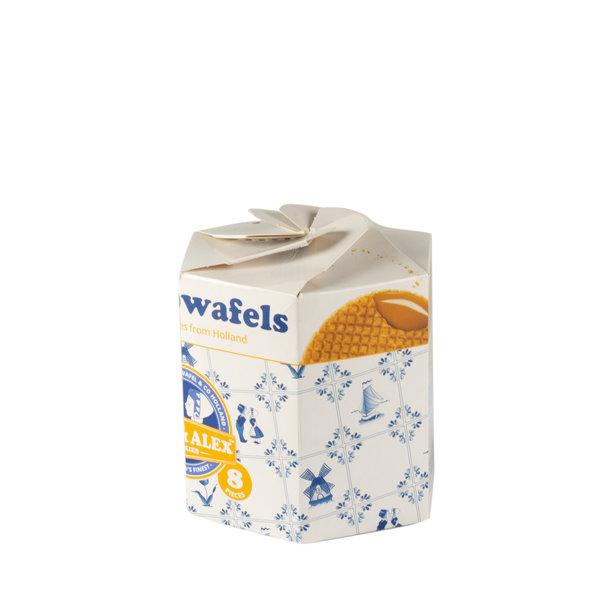 Max & Alex Max & Alex Sirup Waffles 250 grams Hexa pack