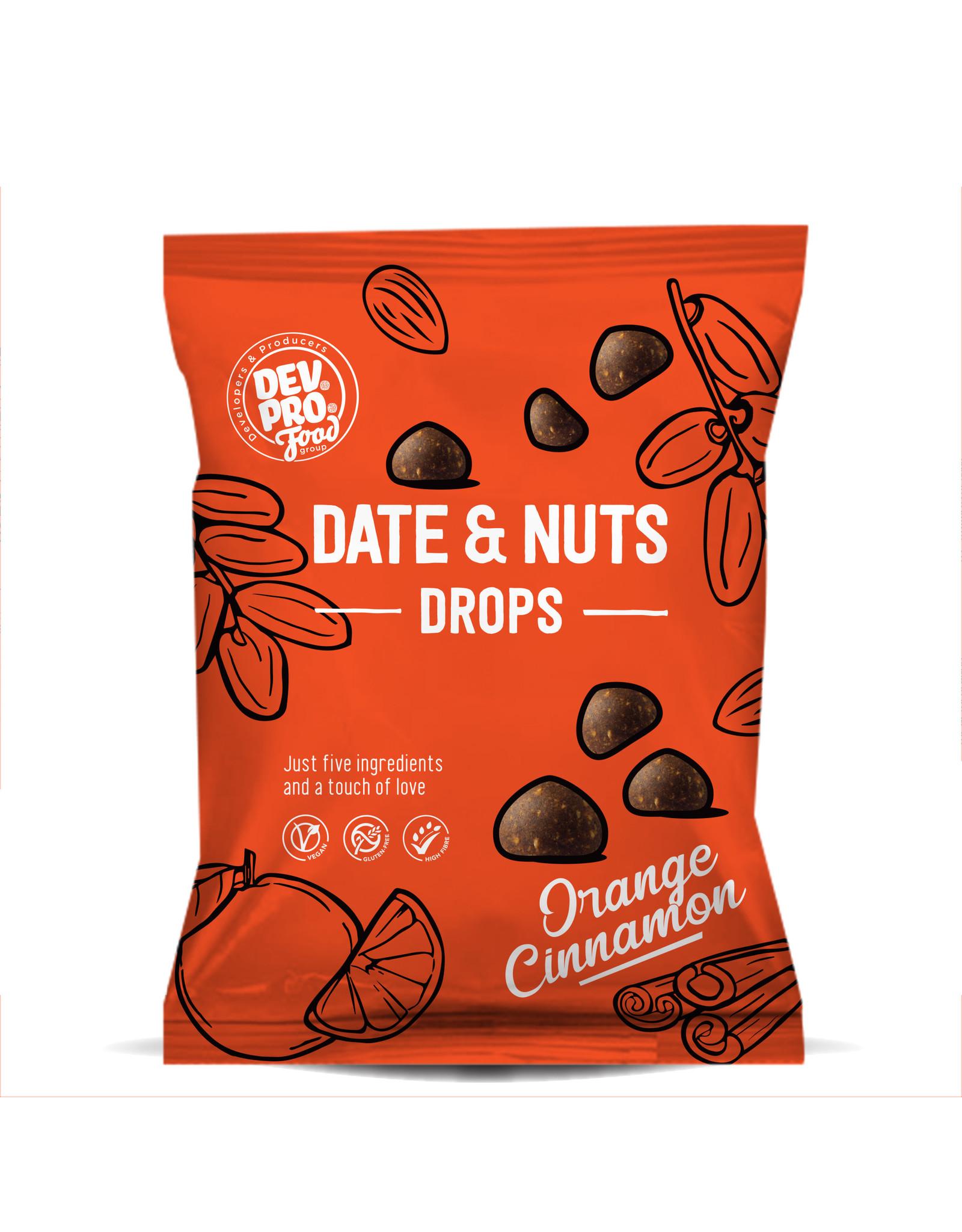 DEV. PRO. EUROPE Copy of Dev. Pro. Date & Nuts Drops - Coconut Cocoa - 40 gram pack (EU, TR,  RUS)