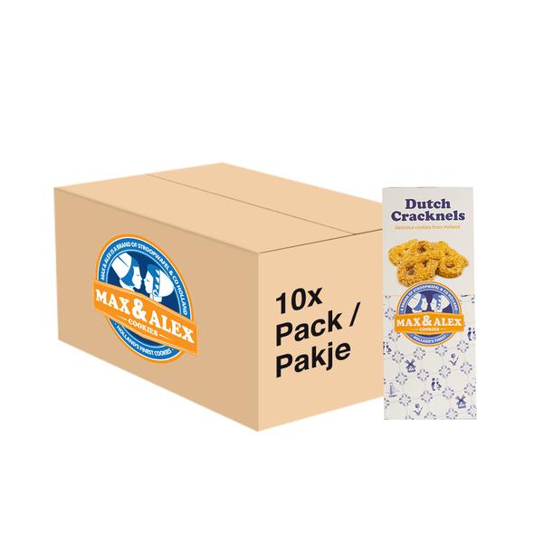Max & Alex Max & Alex Dutch Cracknels (200 gram) 10x - master carton