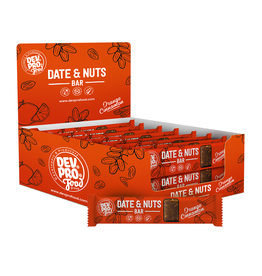 DEV. PRO. EUROPE Copy of Dev. Pro. Date & Nuts bar - Orange Cinnamon  - 30 gram - single (EU, TUR, RUS)