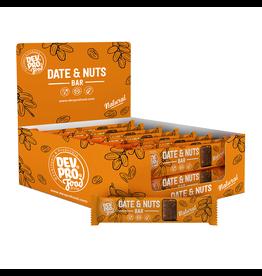 DEV. PRO. EUROPE Copy of Dev. Pro. Date & Nuts bar - Natural  - 30 gram - single  (EU, TUR, RUS)