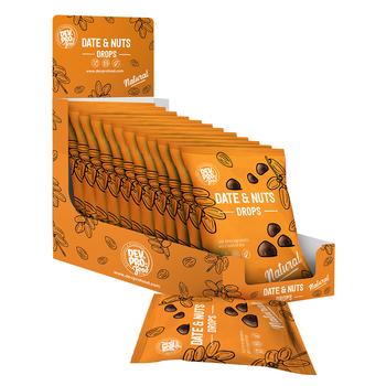 DEV. PRO. EUROPE Copy of Dev. Pro. Date & Nuts Drops - Natural - 40 gram pack (EU, TR,  RUS)