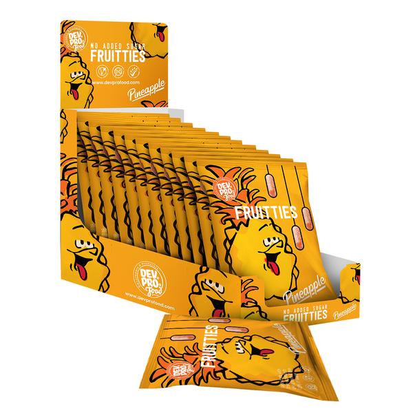 DEV. PRO. EUROPE Dev. Pro. Fruitties - Pineapple - SRP 12x 35 gram pack (EU, TR,  RUS)