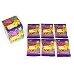 Let's Let's Wortel & Banaan Groente & Fruit Snoep - 90 gram doosje