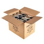 PINKYROSE Pinkyrose syrup Dark Caramel & Vanilla - 6x 500 ml - omdoos