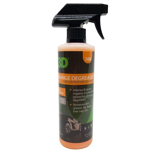 3D PRODUCTS 3D Orange Citrus Degreaser - 16oz / 473 ml Spray Fles