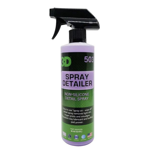 3D PRODUCTS 3D SPRAY DETAILER - 16 oz / 473 ml Spray Fles