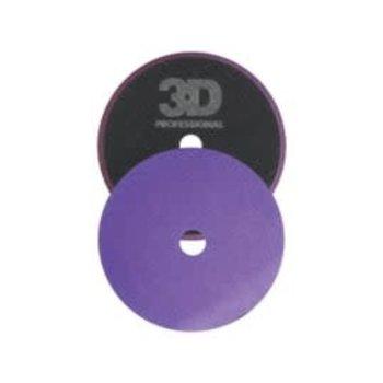 """3D PRODUCTS 3D Foam Cutting/Polishing Pad Drk Prpl - 5.5"""" / 140 mm"""