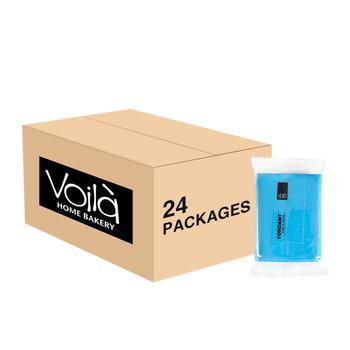 VOILA Home Bakery Voila rolfondant blauw - 24x 250 gram - omdoos