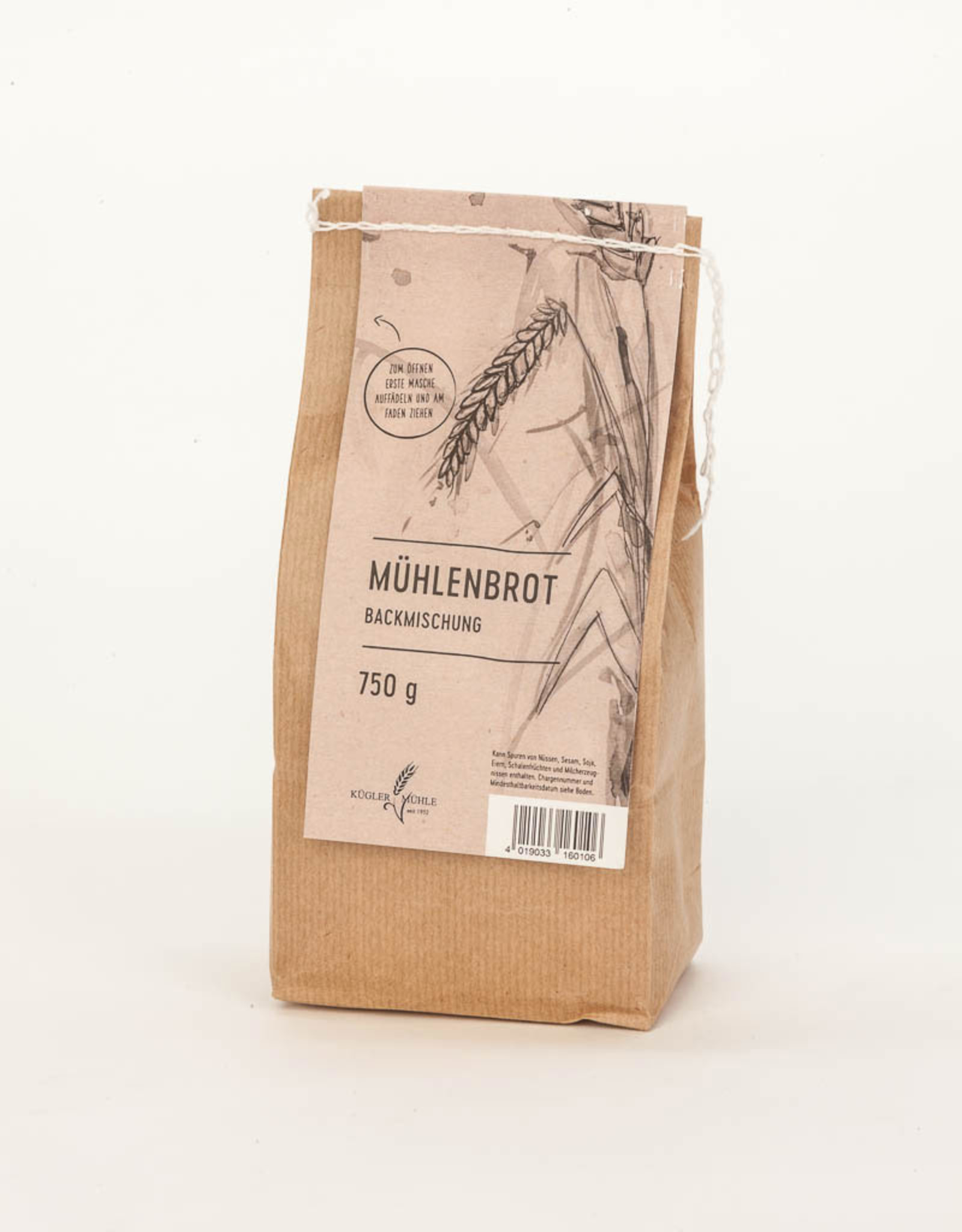 Kügler-Mühle Mühlenbrot Backmischung