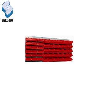 Stalen ophangbord - 3 delig 13062