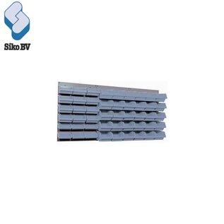 Stalen ophangbord - 3 delig 13067